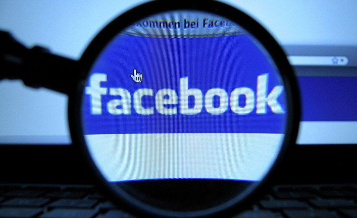 Логотип социальной сети Facebook