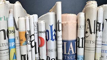 Немецкие газеты