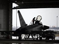 Итальянский истребитель «Еврофайтер Тайфун»