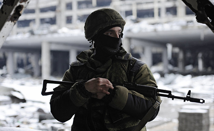Ополченец Донецкой народной республики
