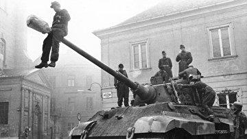 Немецкий тяжёлый танк «Тигр II», или «Королевский тигр»
