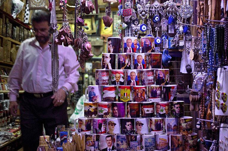 Сувенирная лавка в Дамаске
