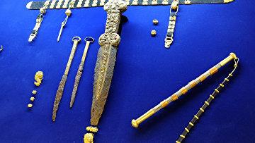 Золотые сокровища скифов