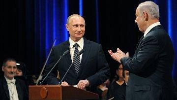 Встреча президента РФ Владимира Путина с премьер-министром Израиля Беньямина Нетаньяху