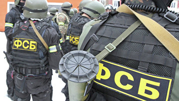 Антитеррористические учения спецназа УФСБ и УМВД России