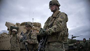 Солдаты армии США на учениях Blowback 2016