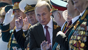 Президент России - Верховный Главнокомандующий Вооружёнными Силами Владимир Путин
