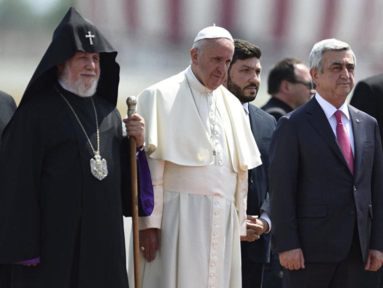Визит папы римского в Армению