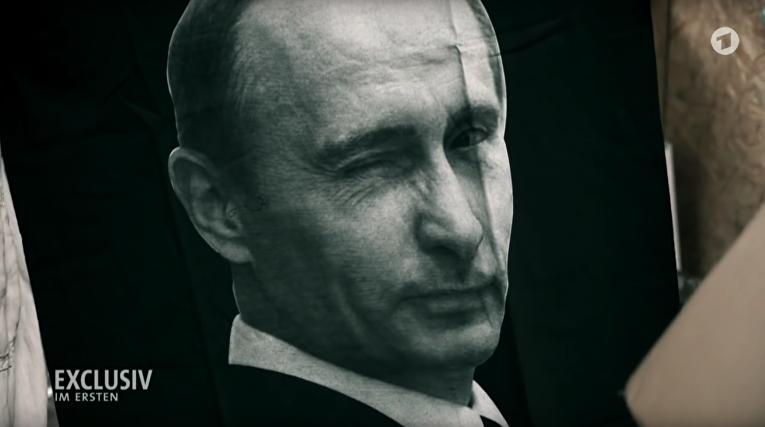 Кадр из ролика «Теневая игра. Необъявленная война Путина против Запада»