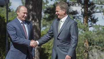 Визит Путина в Финляндию