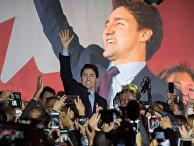 Канадский лидер Либеральной партии Джастин Трюдо