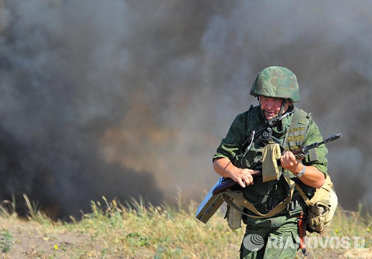 Учения Оперативной группы российских войск в Приднестровье