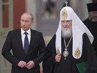 Владимир Путин встретился с участниками Архиерейского собора РПЦ