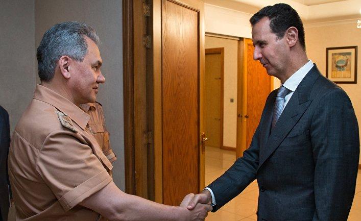 Рабочая поездка министра обороны РФ С.Шойгу в Сирию