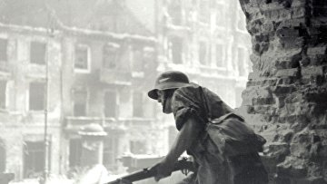 Боец польского сопротивления