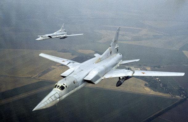 Советские бомбардировщики Ту-22М