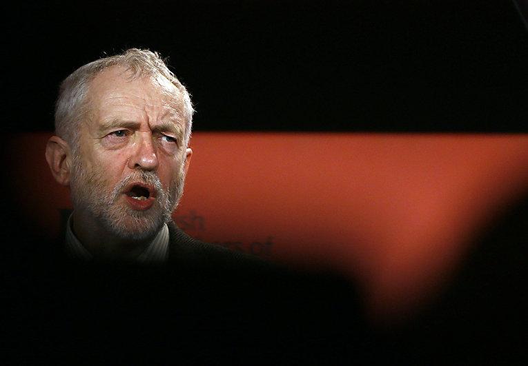 Лидер оппозиционной партии лейбористов Джереми Корбин