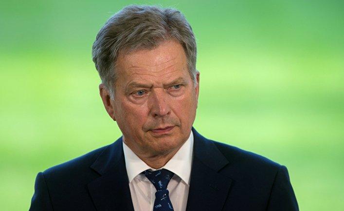 Президент Финляндской Республики Саули Ниинистё