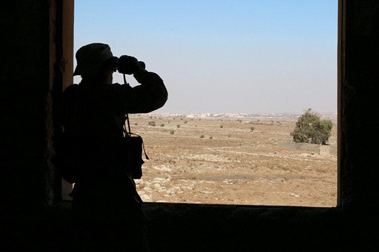 Боевик в Кунейтре, Сирия