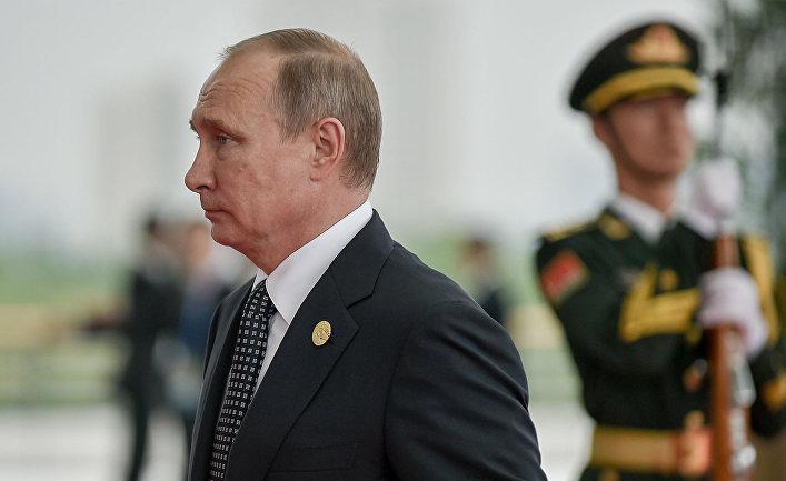 Президент России Владимир Путин на саммите G20 в Ханчжоу