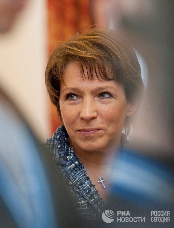 Дочь первого президента России Бориса Ельцина Татьяна Юмашева