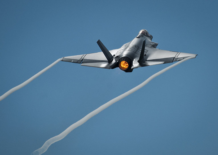 Истребитель-бомбардировщик F-35 «Лайтнинг» II