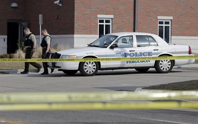 Полицейский участок в Фергюсоне