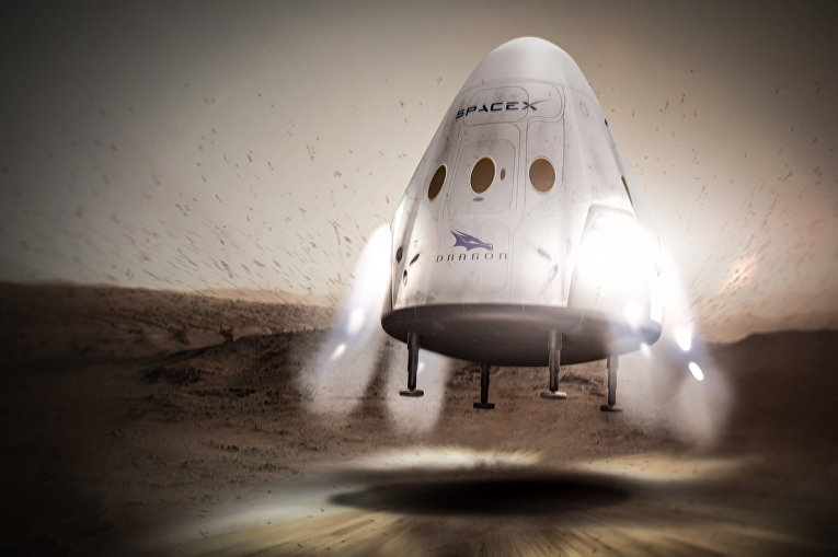 Проект полета на Марс компании SpaceX
