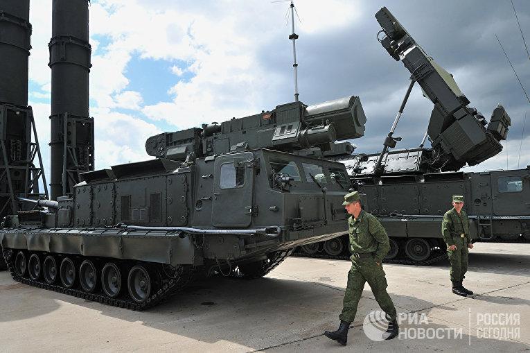 Зенитная ракетная система дальнего действия ЗРС С-300В и С-300ВМ