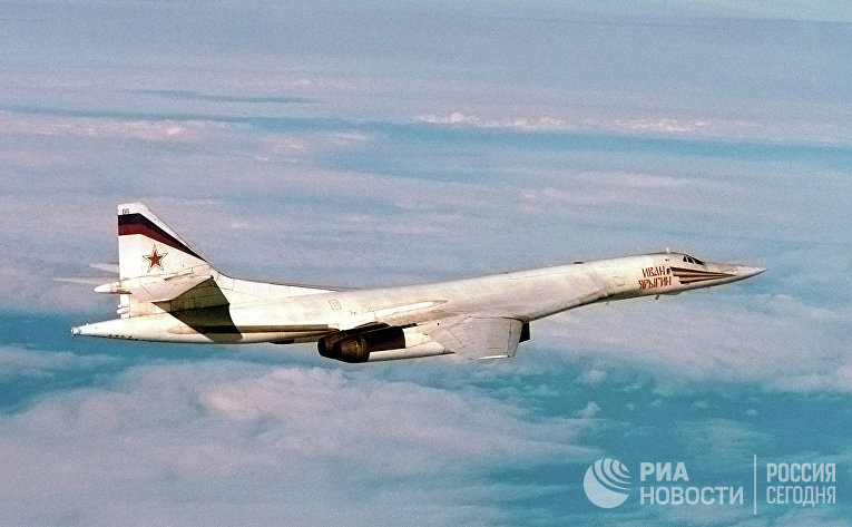 Стратегический сверхзвуковой ракетоносец ТУ-160 «Иван Ярыгин»