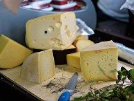 Продажа сырной продукции на мероприятии «Сырные дни» в Москве