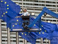 Штаб-квартира Еврокомиссии в Брюсселе, Бельгия