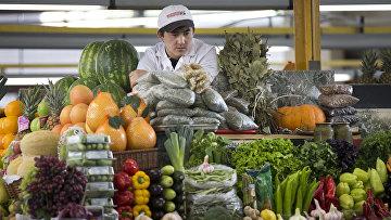 Продовольственный рынок в Москве