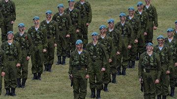 Военнослужащие воздушно-десантных войск РФ