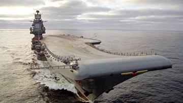 Тяжелый авианесущий крейсер (ТАВКР) «Адмирал Кузнецов»