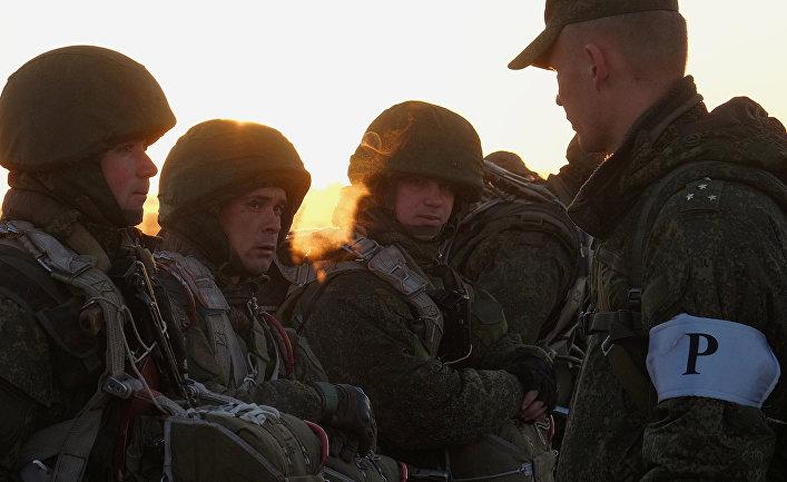 Учения ВДВ в Ульяновской области