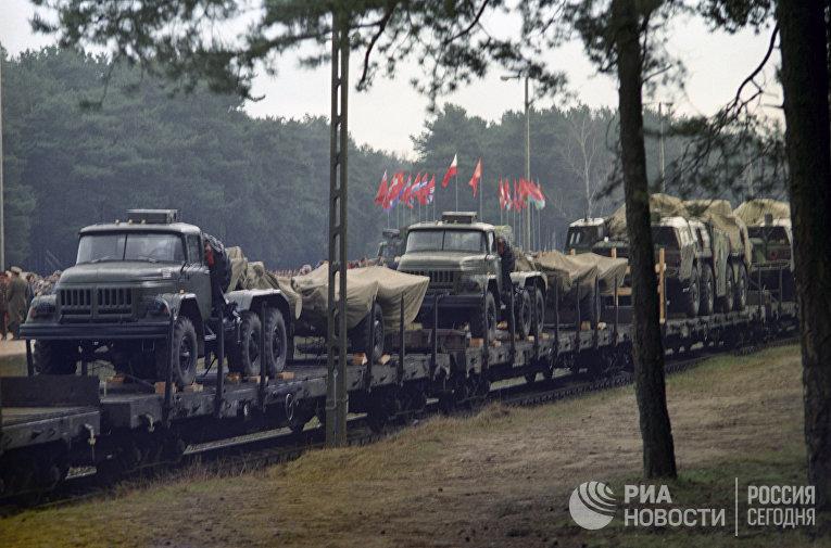 Начало вывода советских войск из Польши