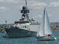 Малый ракетный корабль Черноморского флота ВМФ РФ «Зеленый Дол»