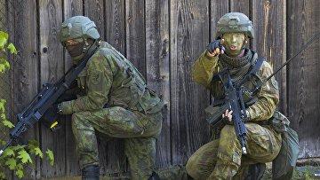 Военные учения НАТО Spring storm в Эстонии