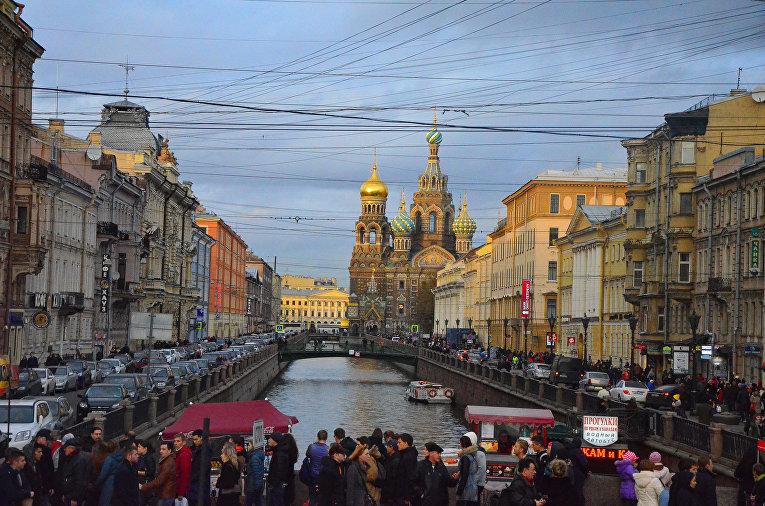 Храм Спас на Крови в Санкт-Петербурге