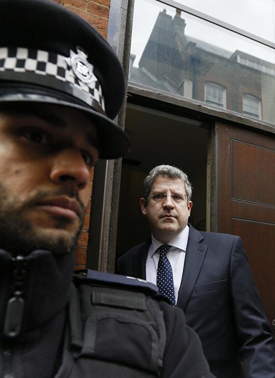 Генеральный директор Службы безопасности Великобритании Эндрю Паркер