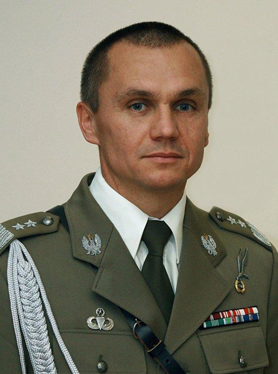 Польский генерал Полько Роман