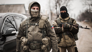 Ополченцы Донецкой народной республики
