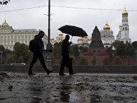 Московский кремль осенью