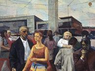 Репродукция картины Р. Р. Валнере «Новая Рига»