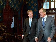 Встреча глав МИД России и Норвегии