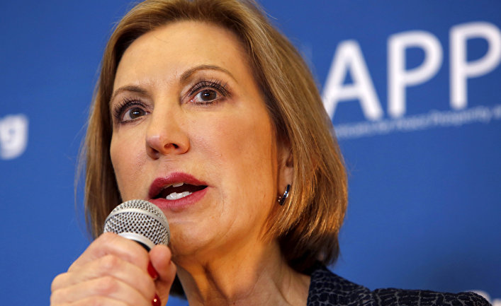 Кандидат в президенты США от республиканцев Карли Фиорина
