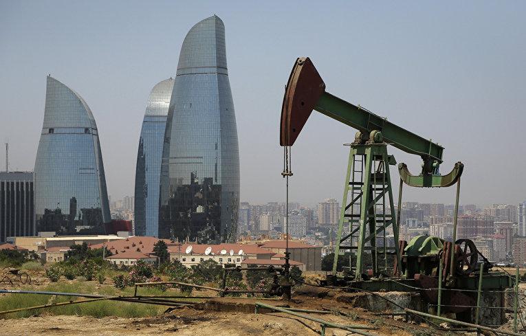 Нефтяной насос в Баку