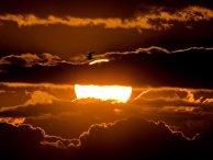 Закат над Финским заливом