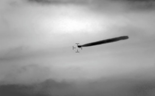 Рассекреченное видео с НЛО